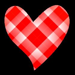 Colorful Heart Shaped Clipart - Karen Cookie Jar