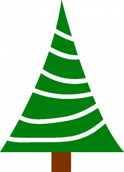 Clipart - Simple christmas tree