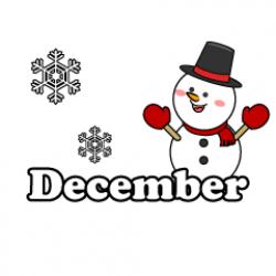 Free December Cliparts & Pictures|Illustoon