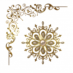 Magic items and elements Design gold amulet pendants Gold necklace ...