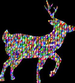 Clipart - Chromatic Triangular Deer