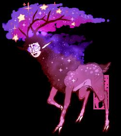 Space Deer Nat Face by Deer-Head on DeviantArt