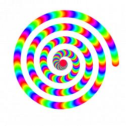 rainbow spiral animation by 10binary | RAINBOW COLORS & RENGARENK ...