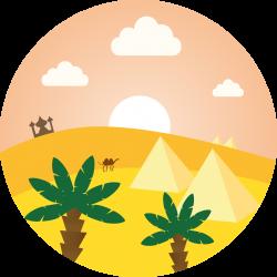 Arab Desert | Flat Icons | Pinterest