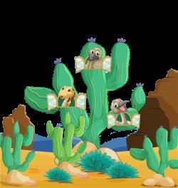 Desert Xerocole Animal Clip art - Desert plants and animals 812*860 ...