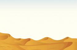 Desert clipart sand dune pencil and in color desert ...