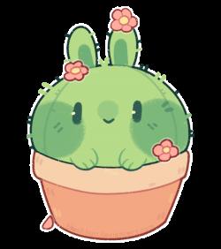 p]: cactus bun by blushbun.deviantart.com on @DeviantArt   jubchay ...