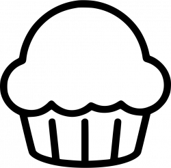Cupcake Desert Sweets Svg Png Icon Free Download (#483248 ...