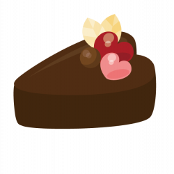 Tea Chocolate cake Dessert Clip art - chocolate cake 624*625 ...