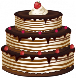 Cake PNG Transparent Clip Art Image | SWEET THINGS | Pinterest | Art ...