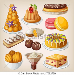 french desserts clip art   Clipart Panda - Free Clipart Images