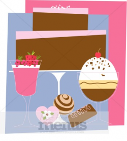 Fancy Dessert Clipart | Clipart Panda - Free Clipart Images