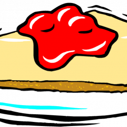 Cheesecake Clip Art Free - Real Clipart And Vector Graphics •