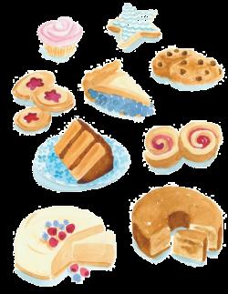Doughnut Petit four Dessert Drawing Clip art - Cartoon sweets 564 ...