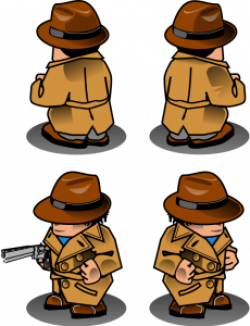 Detective clipart magnifying glass clipart 4 - Clip Art Library