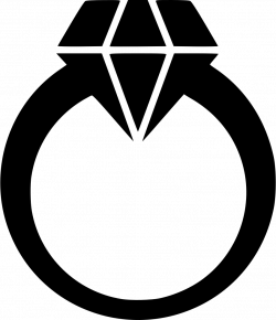 Diamond Ring Svg Png Icon Free Download (#572940) - OnlineWebFonts.COM