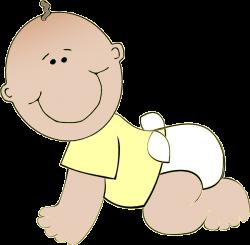 Neutral Baby Crawling Clip Art at Clker.com - vector clip art online ...