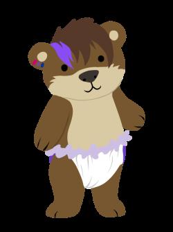 Cutie in a diaper — Weasyl