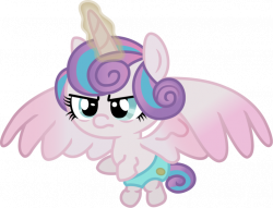 Image - Angry little Princess Flurry Heart.png | My Little Diapers ...