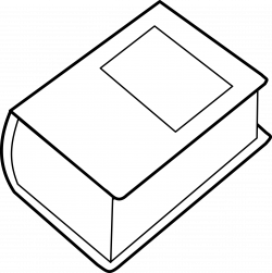 Clipart - Dictionary / Dictionnaire