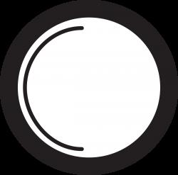 Clipart - Kitchen Icon - Plate