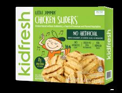 Little Jammin' Chicken Sliders - Kidfresh