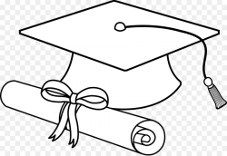 Book Black And White clipart - Diploma, Cap, Hat ...