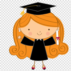 Girl wearing graduation toga , Graduation ceremony Drawing ...