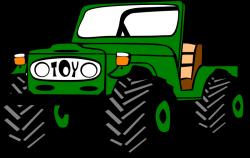 Toyota Land Cruiser by Gerald_G - car, clip art, clipart, jeep ...