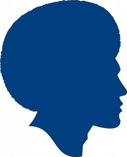 Silhouette African American at GetDrawings.com | Free for personal ...