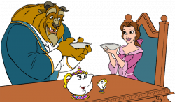 Beauty and the Beast Group Clip Art 2 | Disney Clip Art Galore