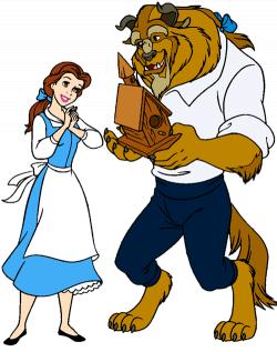 Belle and the Beast Clip Art 2 | Disney Clip Art Galore
