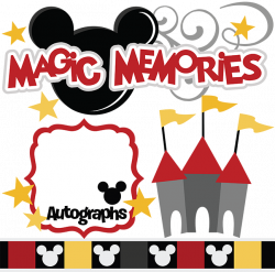 Magic Memories SVG cut files castle svg cut file flourish svg cut ...