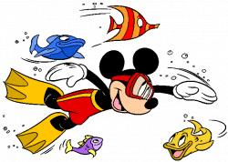 Disney swim clipart - Clip Art Library