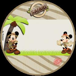 latinha | Disney | Pinterest | Safari theme party, Safari theme and Mice