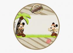Disneyland Clipart Disney Party - Mickey Y Minnie Safari Png ...