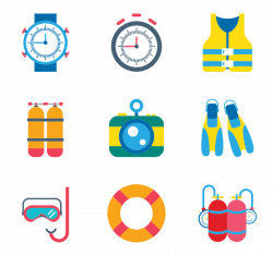 13 diving icon packs - Vector icon packs - SVG, PSD, PNG, EPS & Icon ...