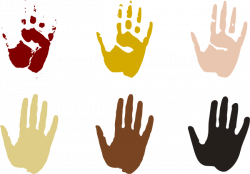 Diversity Palms Clip Art at Clker.com - vector clip art online ...
