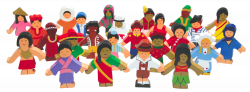 Resource: Children of the World Wooden Set of 25 from Educational ...