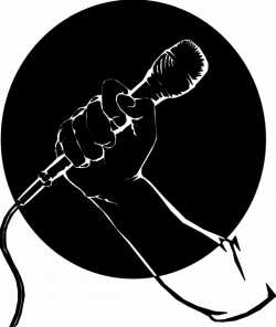 Cartoon Microphone Clip Art For blaoggers need a mic | ELM ...