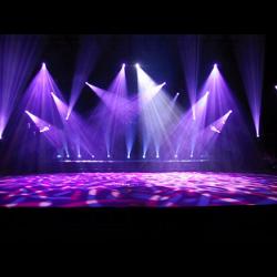 Stage lighting DJ lighting Disc jockey - stage background ...