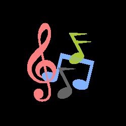Music Notes Logo Symbols SVG,PNG - Free Logo Elements, Logo Objects ...