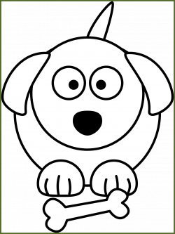 Puppy Dog Clipart Black And White - Real Clipart And Vector Graphics •