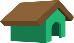 Dog In Doghouse Clipart Group (37+)