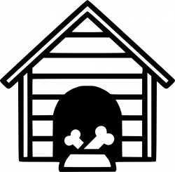 Dog House Svg Png Icon Free Download (#568672) - OnlineWebFonts.COM
