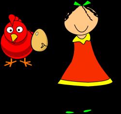 Doll Red Hen Clip Art at Clker.com - vector clip art online, royalty ...