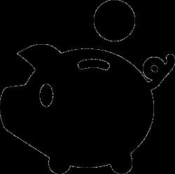Pig Piggy Economy Euro Dollar Yenb Svg Png Icon Free Download ...