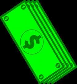 Dollar Bills Clip Art at Clker.com - vector clip art online, royalty ...