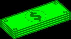 Dollars Clip Art at Clker.com - vector clip art online, royalty free ...