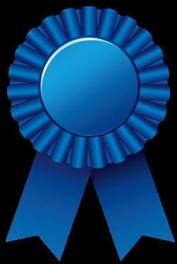Blue Rosette Ribbon PNG Clipar Image | Gallery Yopriceville - High ...